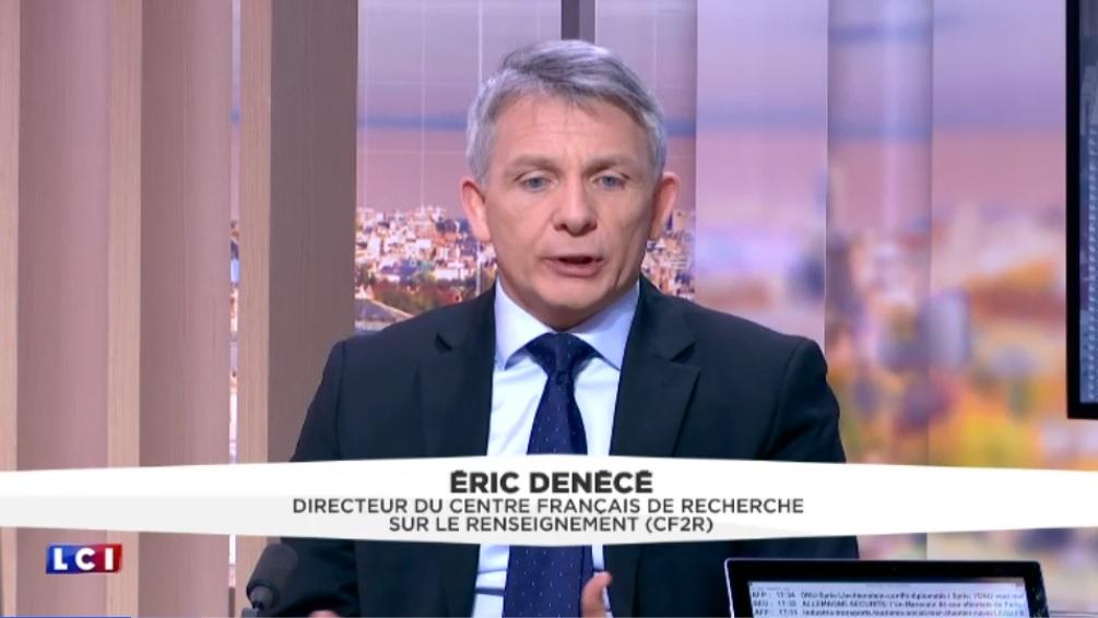 ERIC DENECÉ ÉTAIT L'INVITÉ DE YVES CALVI