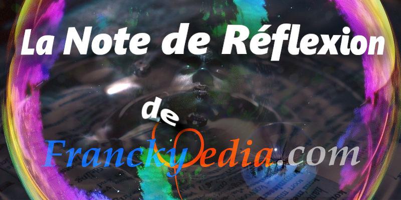 – NOTE DE REFLEXION DU 31 JANVIER 2021 – N#01 – Désillusions